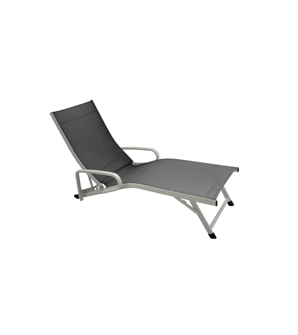 lit bain de soleil relax fuji accoudoirs proloisirs. Black Bedroom Furniture Sets. Home Design Ideas