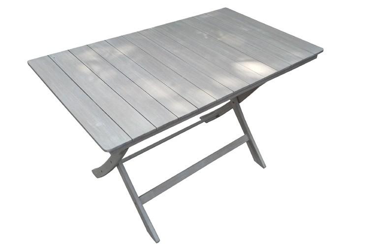 Table de jardin NIAGARA 120 - Réglable 3 hauteurs