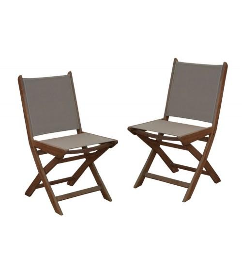 De Chaise 2 Jardin Chaises Theria Par Pliante Lot iOkTuwXZlP